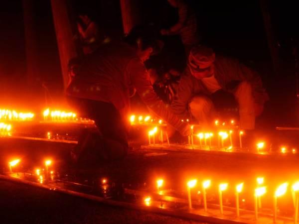 [フォトギャラリー]兵庫県三木市伽耶院万灯会